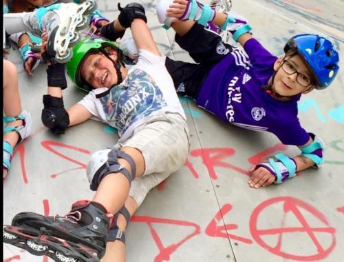 Roller au Skatepark 2